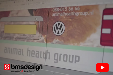 Animal Health Group Carwrapping